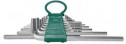 Kpl. kluczy ampulowych bardzo długich 18szt. 1,5-19mm
