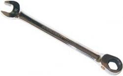 Klucz płasko-oczkowy bezpoślizgowy z grzechotką