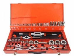Zestaw gwintowników i narzynek HSS M3 - M20 Format