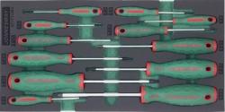 Kpl. 12szt. wkrętaków TORX we wkładce EVA Jonnesway