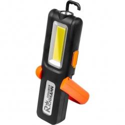 Lampa aku. diodowa 5W+3W uchylna, z regulacją mocy RICHMANN