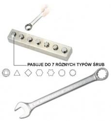 Klucz płasko-oczkowy Super-Tech