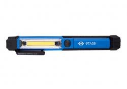 Lampka warsztatowa USB mała 1,5W COB+ 1W LED - KING TONY