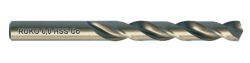 Wiertło kręte szlifowane HSS-Co kobaltowe DIN 338 Terrax