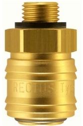Szybkozłącze serii 26 RQS z gwintem