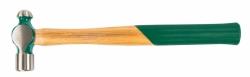Młotek blacharski z okrągłym obuchem i kulistym rąbem 225g Jonnesway