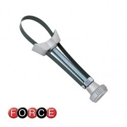 Klucz do filtra oleju 65-110mm taśmowy Force