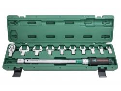 Klucz dynamometryczny 40-200 Nm z wymiennym końcówkami Jonnesway