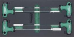 Kpl. 4szt. kluczy sztorcowych we wkładce EVA Jonnesway