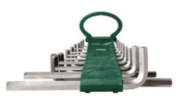 Kpl. kluczy ampulowych długich 18szt. 1,5-19mm