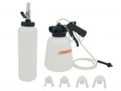 Przyrząd do wymiany płynu i odpowietrzania układu hamulcowego Jonnesway