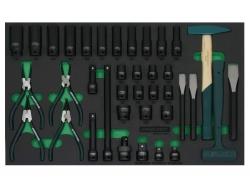 Kpl. narzędzi 38szt. we wkładce EVA Jonnesway