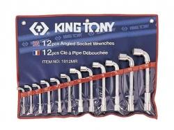 Kpl. kluczy fajkowych 12szt. 8-24mm