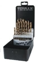 Zestaw wierteł kobaltowych szlifowanych 1,0 - 13,0 mm HSS-Co DIN 338 TERRAX
